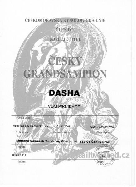 Český Grand šampion